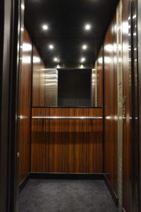 Copas ascenseurs Rénovation Cabine