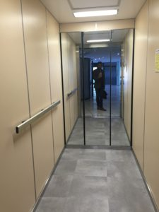 Copas ascenseurs monte malade