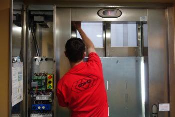 copas ascenseurs geste de maintenance