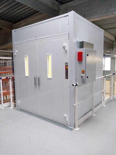 Monte charges C'PRO Valence - COPAS Ascenseurs